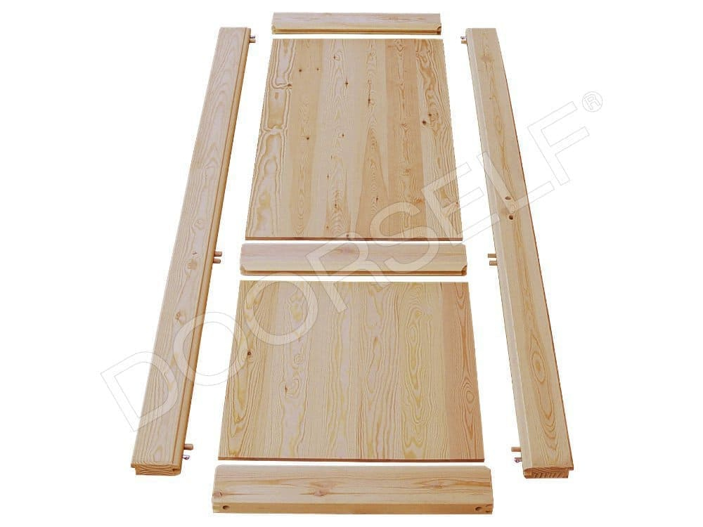 Porte in legno massello su misura per interni fai da te doorself - Porte fai da te legno ...