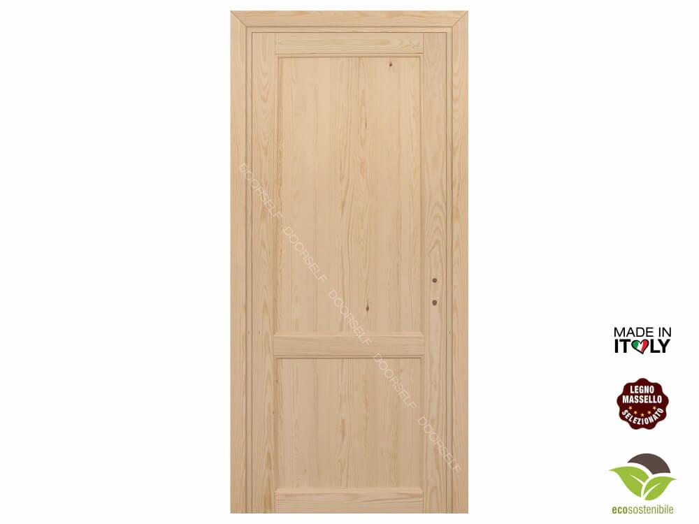 Porte In Legno Massello : Porte legno massello su misura per interni fai da te doorself