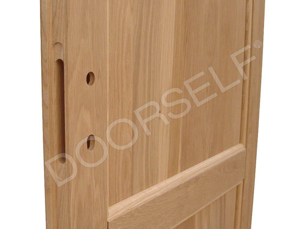 Porta in Legno Massello di Rovere per interni grezza | DoorSelf