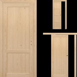 Porte in Legno Massello di pino