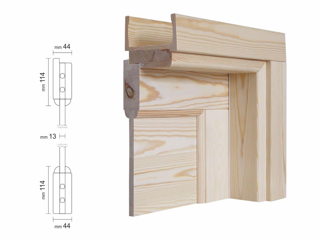 Porte In Legno Massello Prezzi : Porta scorrevole interno muro per interni in legno massello grezzo
