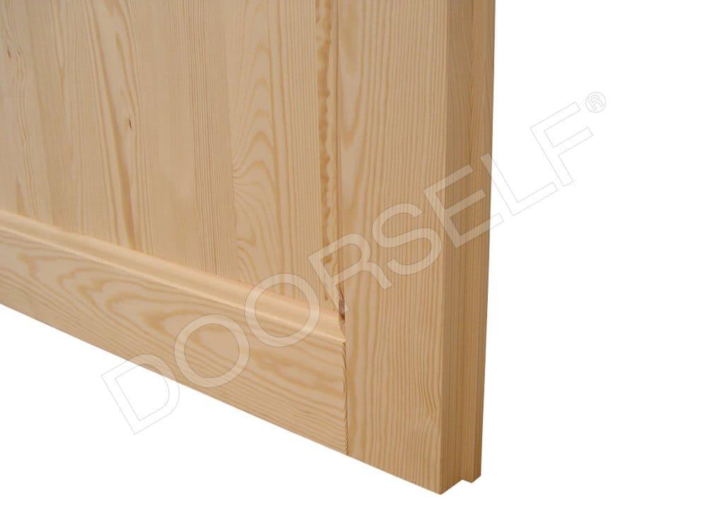 Porte In Legno Massello Prezzi : Porta per interni a battente in legno massello grezzo di pino