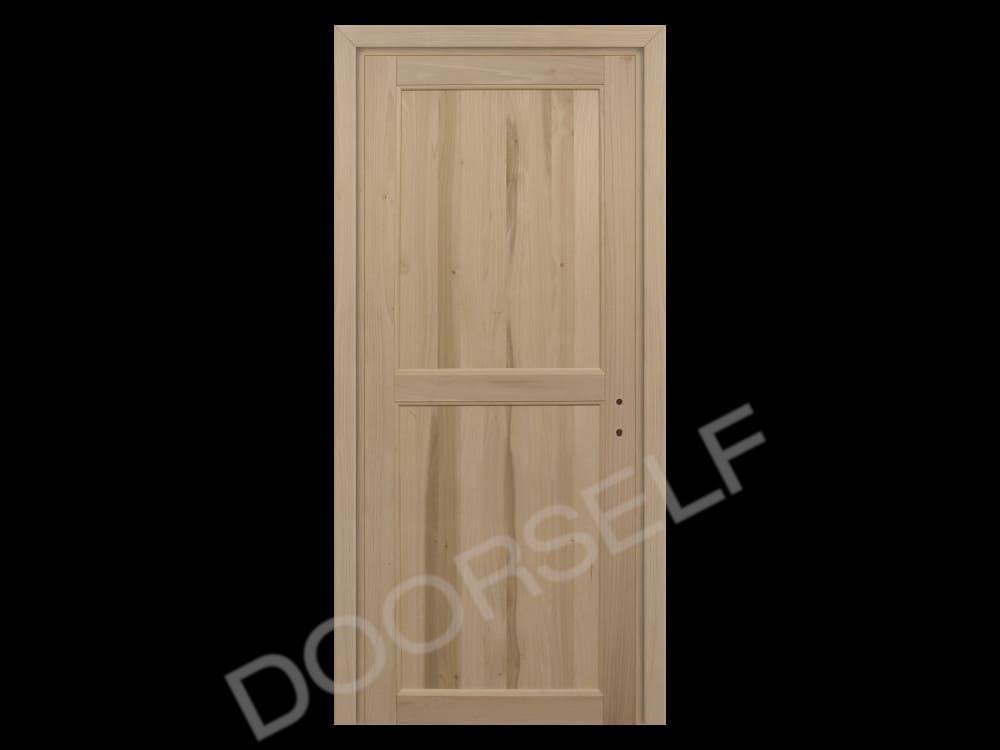 Porta a battente per interni in Legno Massello di Toulipier | DoorSelf
