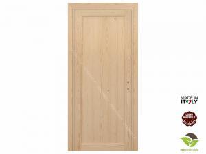 Porta per Interni in legno massello di Pino a battente - Mod. Diana