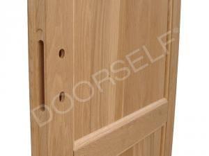 Porta in legno massello di Rovere - Dettaglio 2