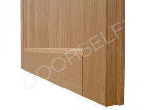 Porta in legno massello di Rovere - Dettaglio 3