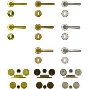 Maniglie porte e serrature porte in legno per interni - DoorSelf