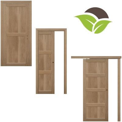 Porte legno massello Rovere