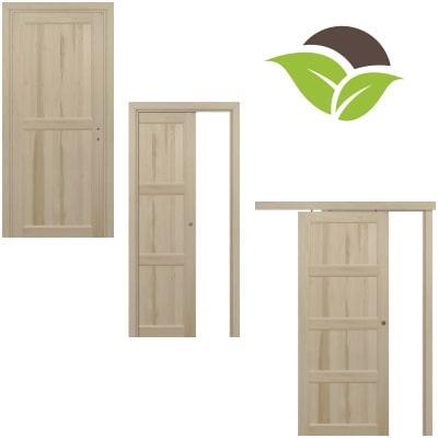 Porte legno massello Toulipier